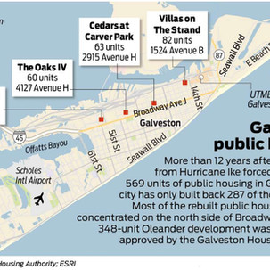 Plan to rebuild Galveston public housing divides advocates