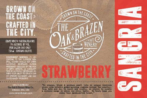 Strawberry Sangria 750ml Bottle