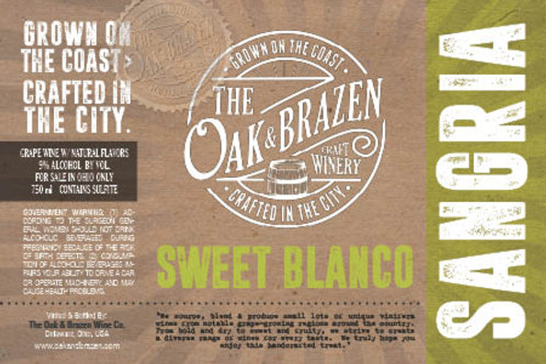 Sweet Blanco Sangria 750ml Bottle