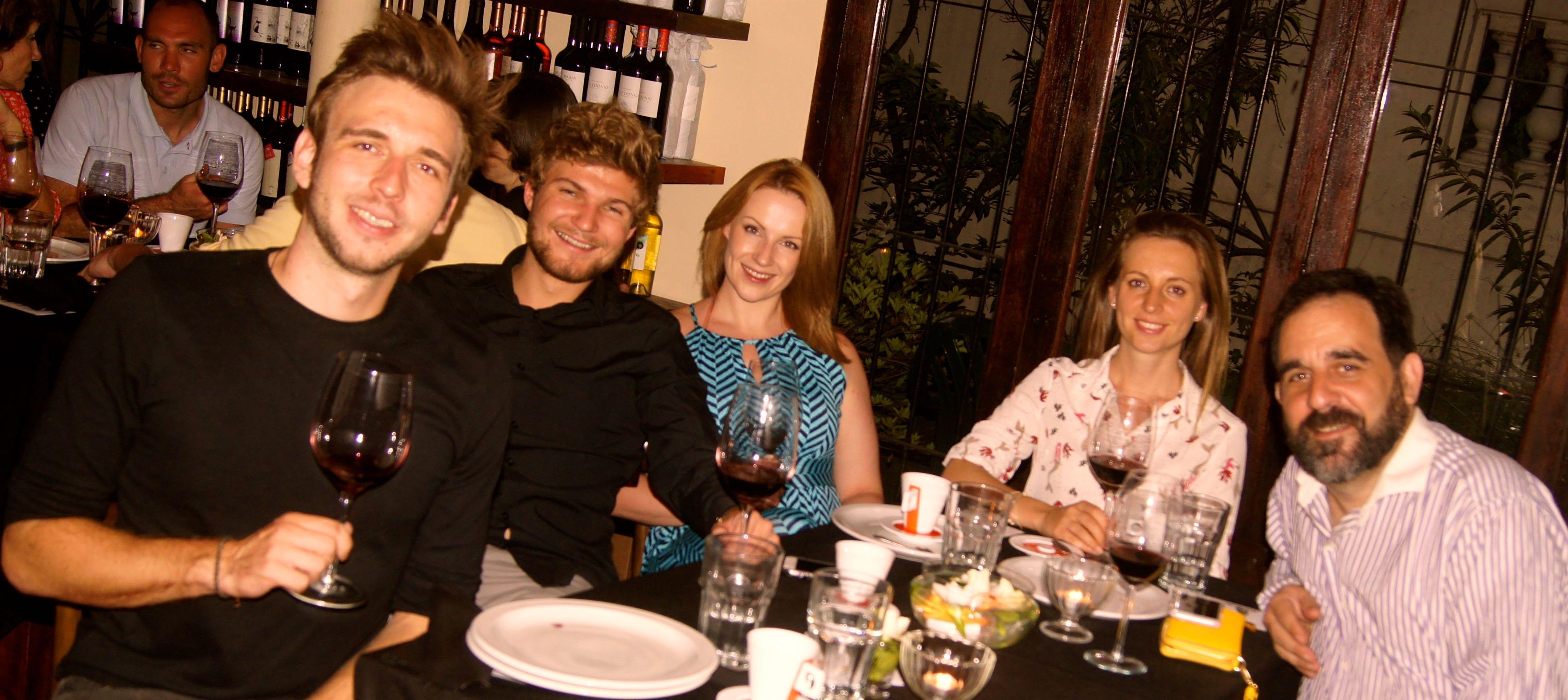 Cena & degustación de vinos