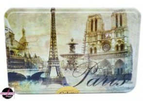 Paris French Cookie Tin