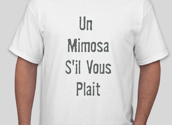 Un Mimosa S'il Vous Plait T-Shirt