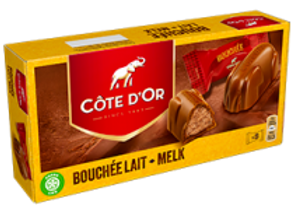 Cote D'Or French Chocolate with Praline Filling