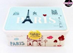 Love In Paris Cookie Tin