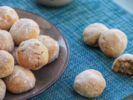 מומלץ! עוגיות חמאה פקאן ללא גלוטן, פליאו, ללא סוכר