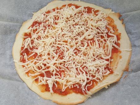 פיצה קריספית ושווה במיוחד! פליאו, ללא גלוטן