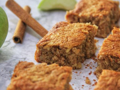 עוגת תפוחים ודבש בחושה פליאו, ללא גלוטן