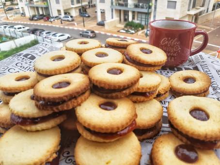 עוגיות ריבה פליאו, ללא גלוטן