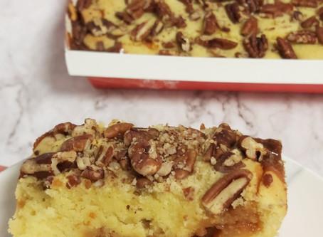 עוגת וניל וריבת חלב ללא גלוטן