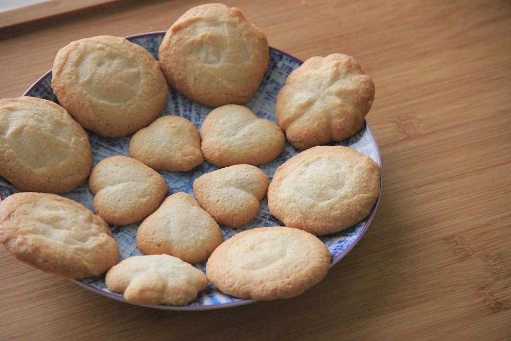 עוגיות חמאה, חמאה, חמאה ללא גלוטן, עוגיות חמאה ללא גלוטן, עוגיות חמאה פליאו, פליאו, עוגיה, עוגיות, דרך טבע,