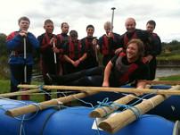 Improvised Rafting