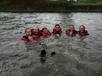 Improvised Rafting Fun