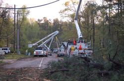 Cherokee County Tornado Aftermath