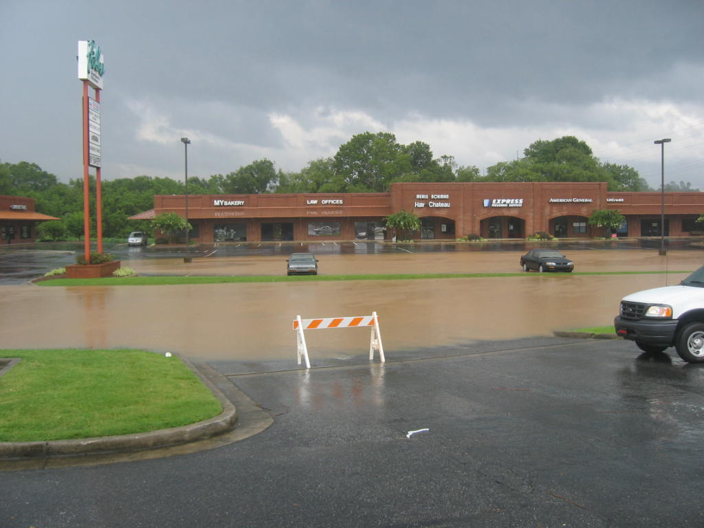 Flooding in Woodstock