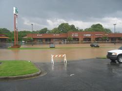 Flooding in Woodstock