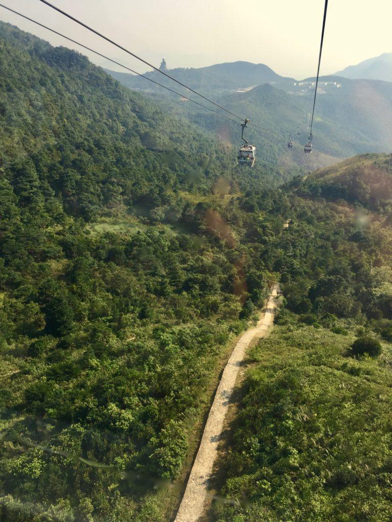 Ngong Ping 360 Cable Car, Lantau Island, Hong Kong, Hong Kong China, China Cable Car
