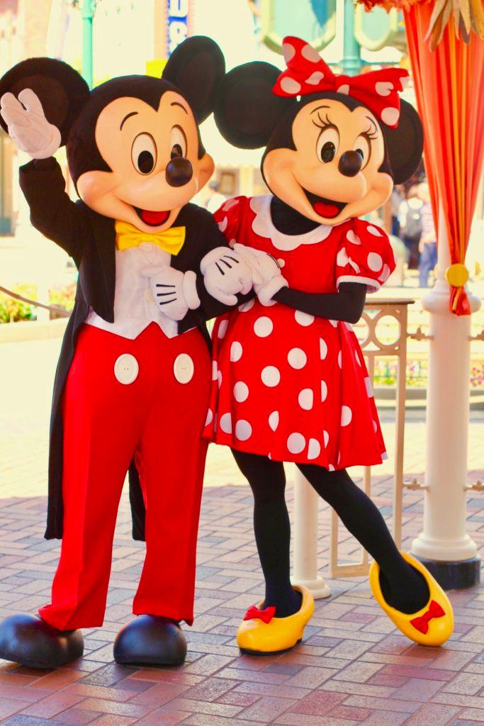 Hong Kong Disneyland, HK Disneyland, Mickey Mouse, Mickey, Mickey and Minnie together, Minnie Mouse, Disneyland, Disney