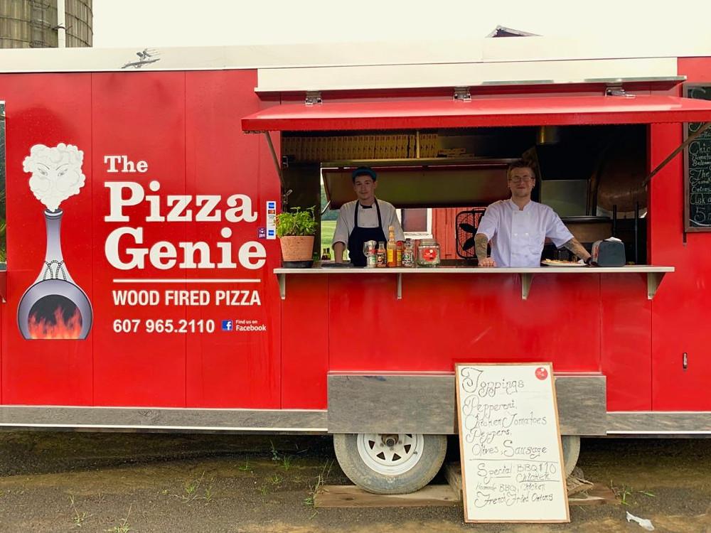 The Pizza Genie, Gluten Free pizza, gluten free, Burlington Flats NY, Central NY, Rustic Ridge, Rustic Ridge Winery
