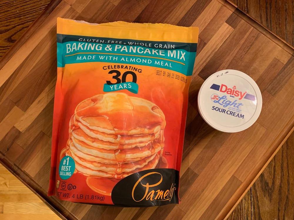 Pamela's Gluten Free Baking & Pancake Mix, Pamela's Gluten Free Sour Cream Coffee Cake, Gluten Free Coffee Cake, Gluten Free Cake, gluten free desserts