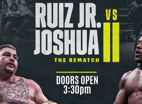 Anthony Joshua v Andy Ruiz II Watch Party Dec 7th!