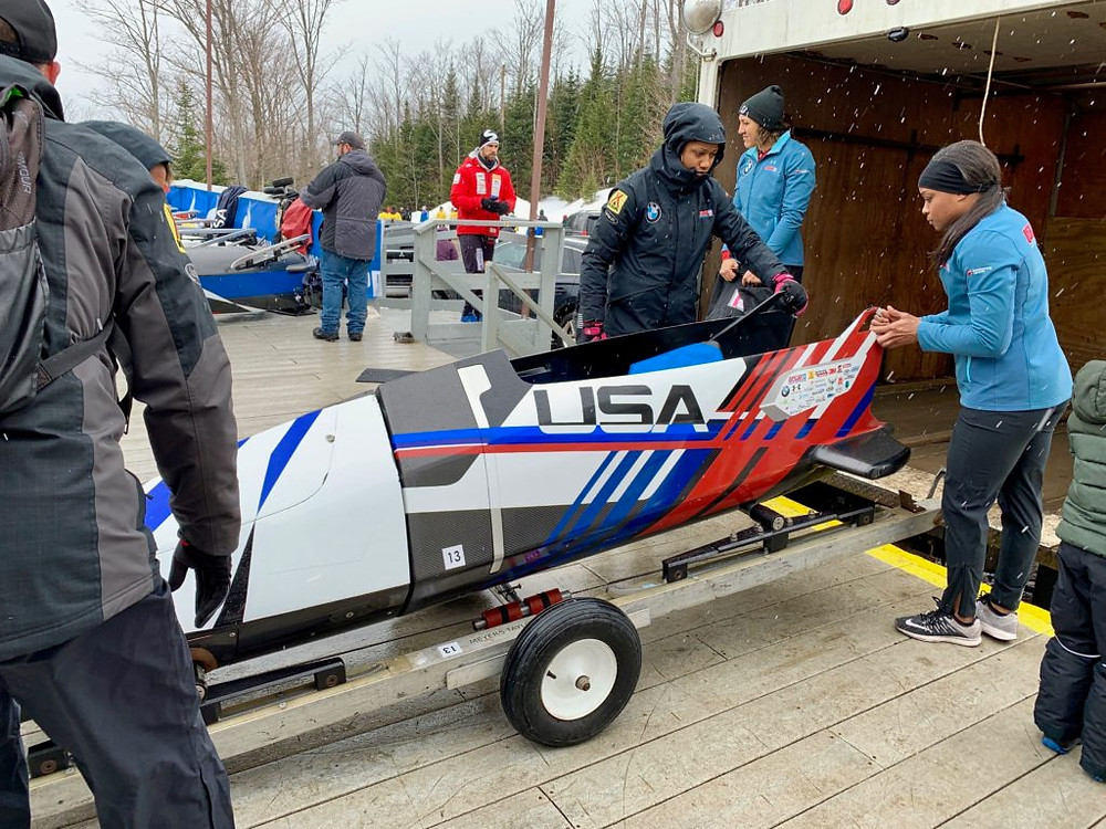 Lake Placid NY, World Cup Bobsled Competition, Bobsled Competition