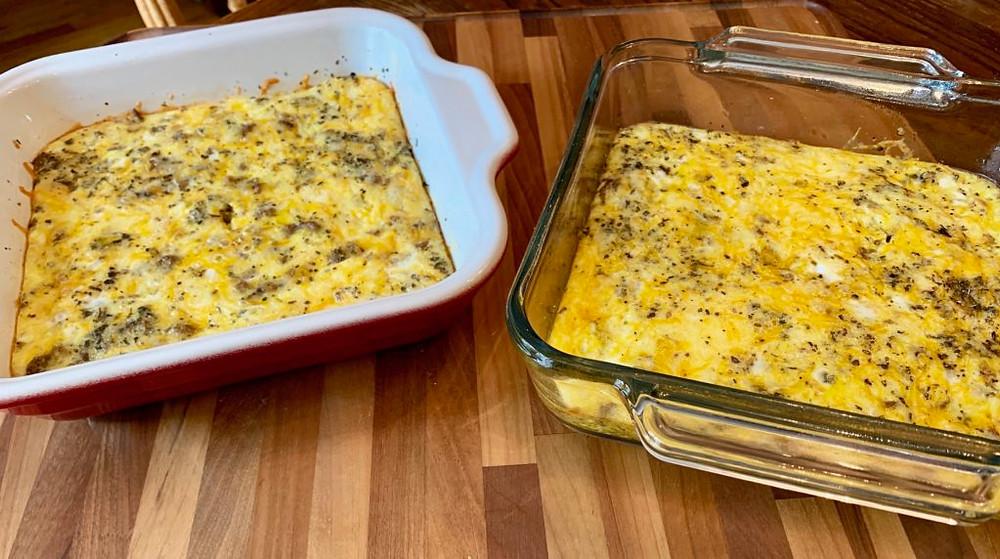 Italian Sausage Egg Casserole, Egg Casserole, Sausage Casserole, Gluten Free Breakfast, Gluten Free Food, Gluten Free Sausage Casserole