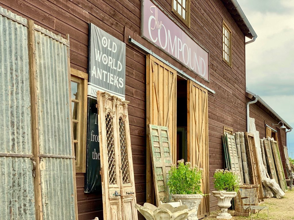 The Compound, Spring Antiques Week Round Top, Round Top, Round Top TX, Antiques, Vintage