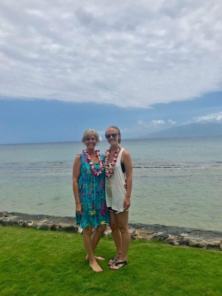 Lei making,Maui Hawaii, Maui Hawaii