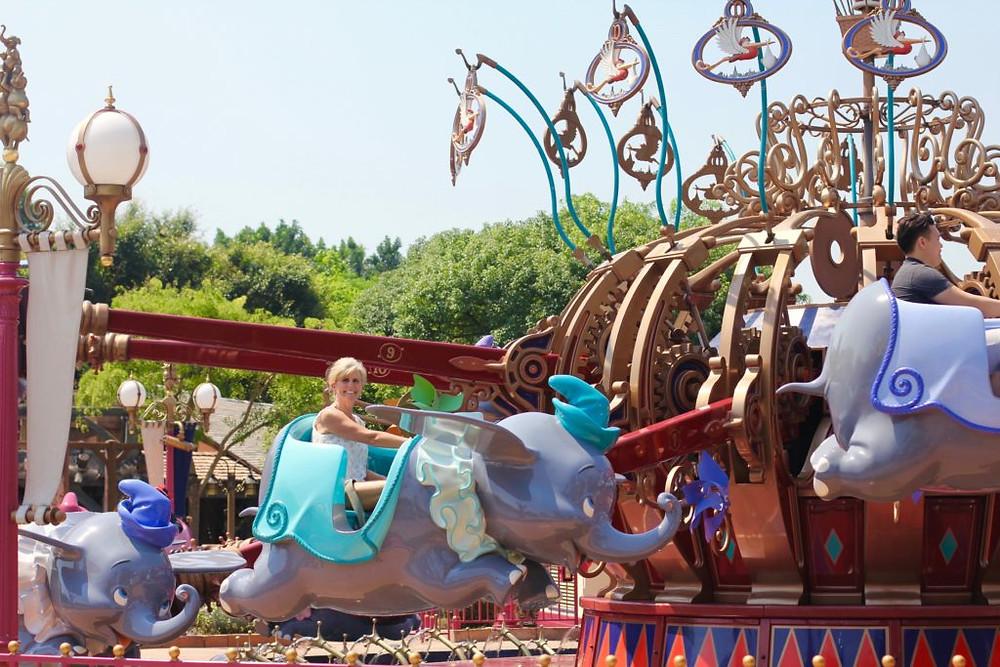 Hong Kong Theme Park, Hong Kong, Hong Kong Disneyland, Disney, Disneyland, Hong Kong Disneyland Resort, Lantau Island, Dumbo the Flying Elephant