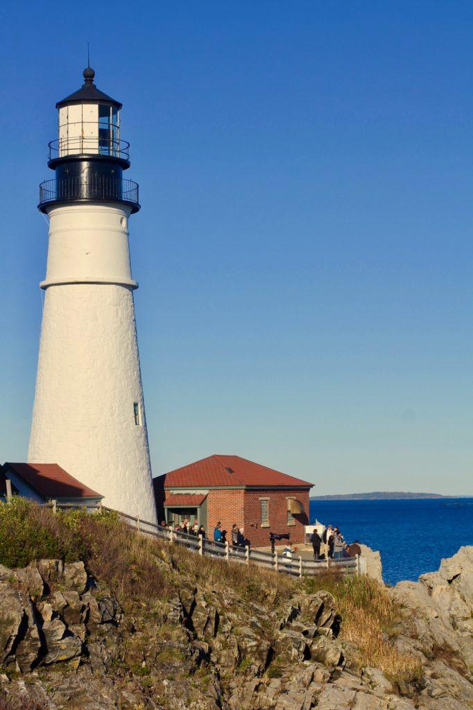 Maine, Oldest Lighthouse in Maine, Portland Maine