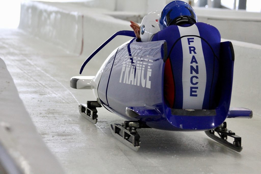 World Cup Bobsled Competition France
