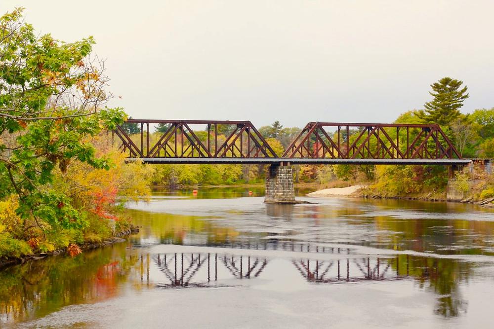 Maine Bridges, Androscoggin Swinging Bridge