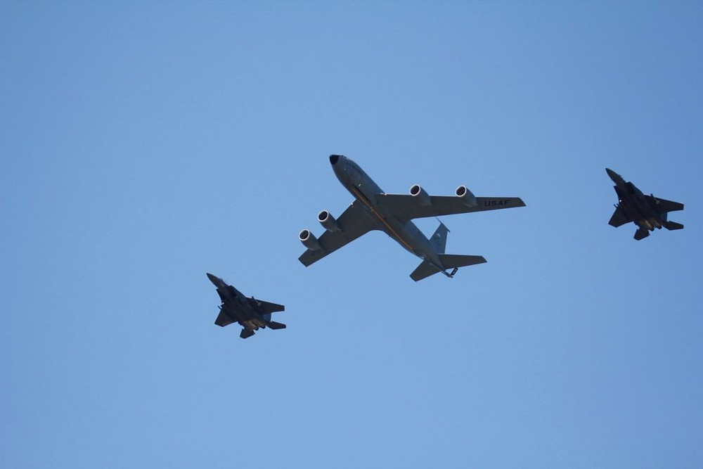 KC-135, KC-135 Stratotanker, Wings Over Wayne Airshow, Seymour Johnson AFB NC, Seymour Johnson AFB Airshow, Tamron 150-600 lens