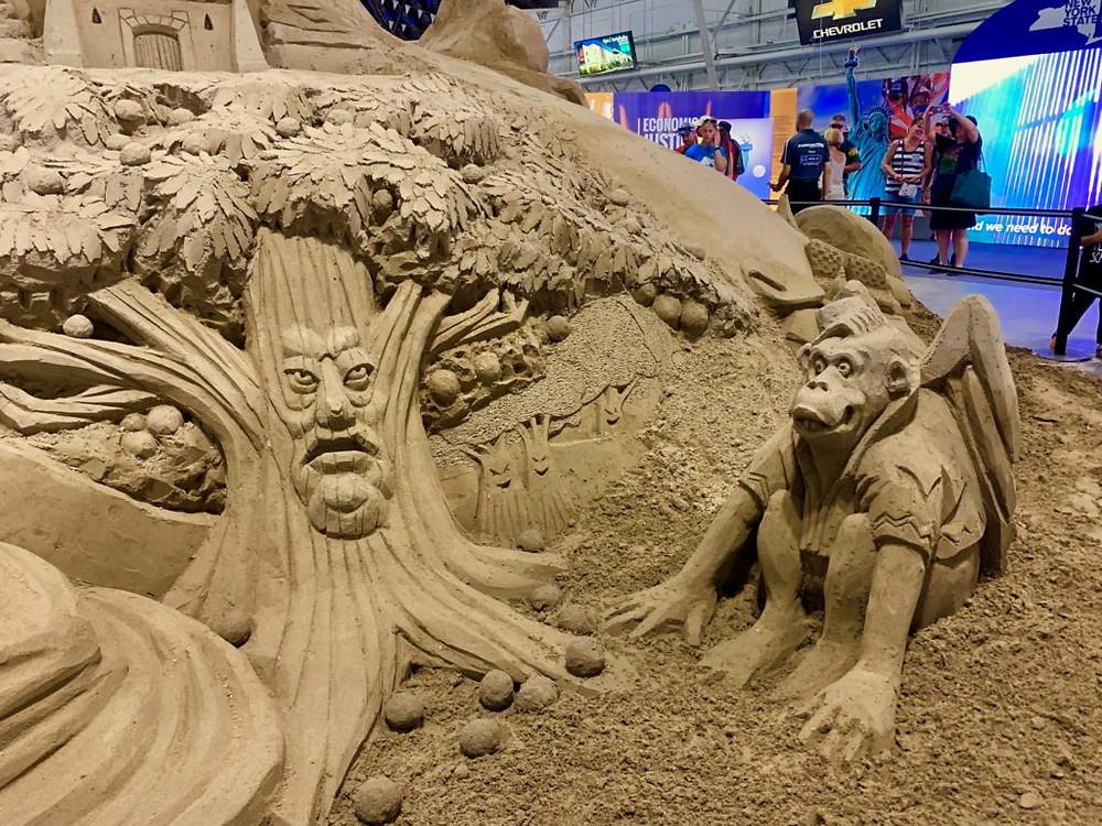 NY State Fair, Syracuse NY, Central NY, Upstate NY, NYS Fair, Sand Sculpture