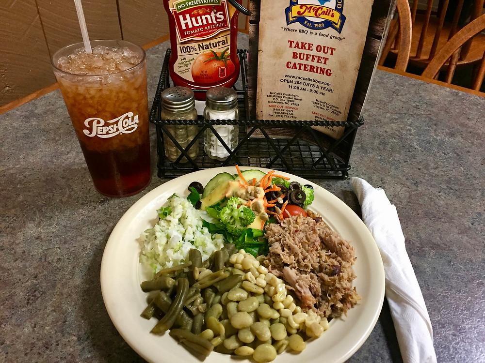 McCalls BBQ & Seafood Restaurant, Gluten Free Goldsboroo NC, McCalls Restaurant, Gluten Free Goldsboro