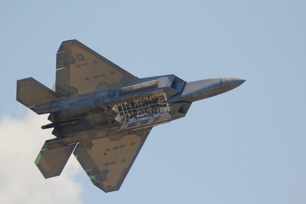 F-22 Raptor, SJAFB NC Air Show, Wings Over Wayne Airshow, F-22,