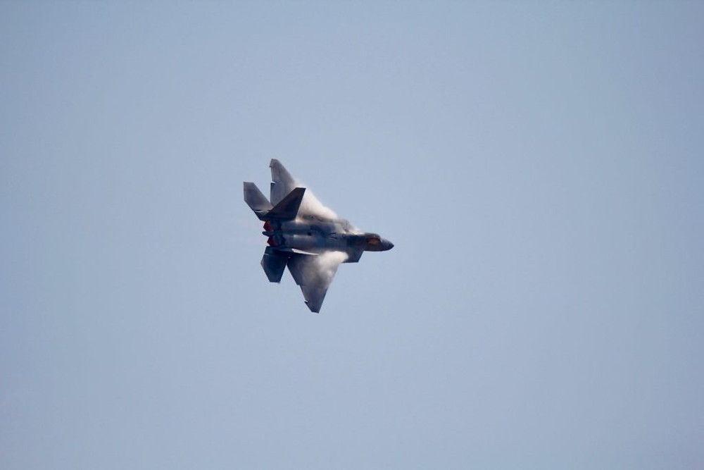 F-22 Raptor, F-22, Seymour Johnson AFB NC, Seymour Johnson AFB Airshow, Wings Over Wayne, Tamron lens, Tamron 150-600 lens