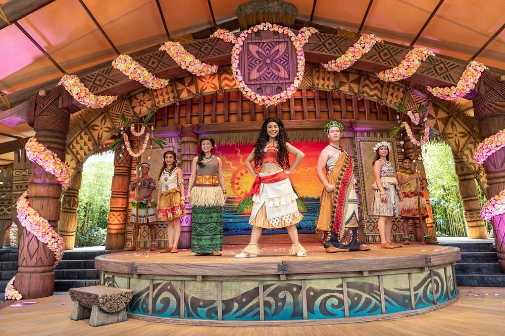 Hong Kong, Hong Kong Disneyland, Hong Kong Disney, Disney, Disneyland, Moana, Moana Homecoming, Moana Homecoming Celebration