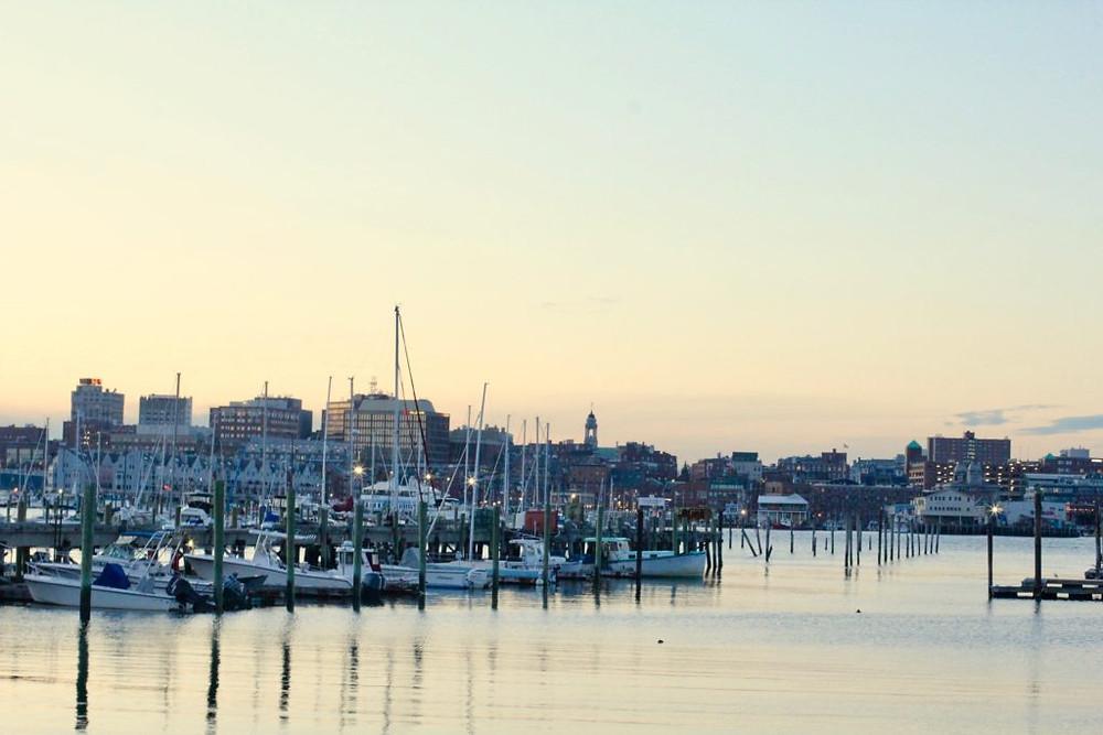 Portland Maine, Portland, Maine, Sunset Marina