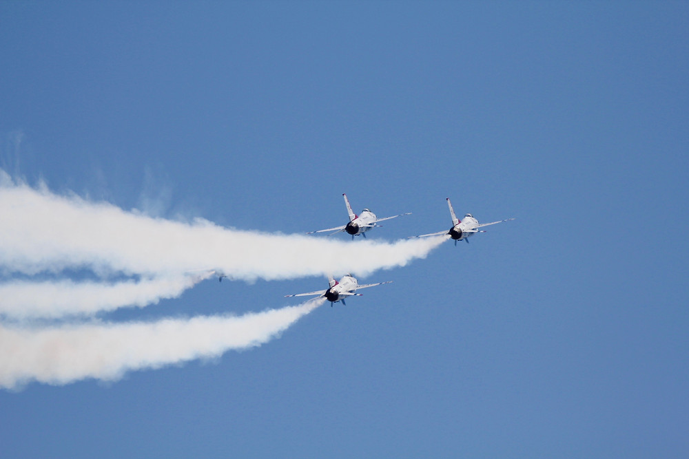 usaf thunderbirds, thunderbirds, military air show, melbourne fl, melbourne air & space show 2018, melbourne air & space show, melbourne air show, military aircraft, F-16