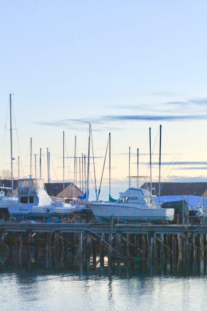 Sunset Marina Portland Maine