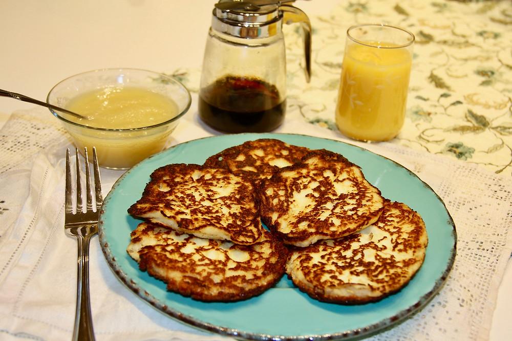 gluten free food, gf food, gluten free potato pancakes, gf potato pancakes