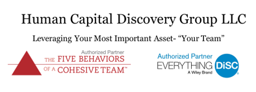Authorized Partner; The Five Behaviors or a Cohesive Team and Everything DISC