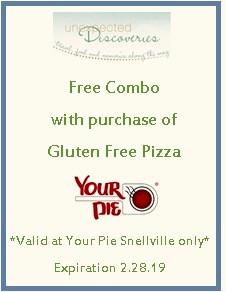 Your Pie Snellville, Your Pie, Gluten Free, Gluten Free Pizza, Gluten Free Snellville, Gluten Free Georgia, Discount Coupons, Gluten Free Coupons, Gluten Free Atlanta, Gluten Free Georgia