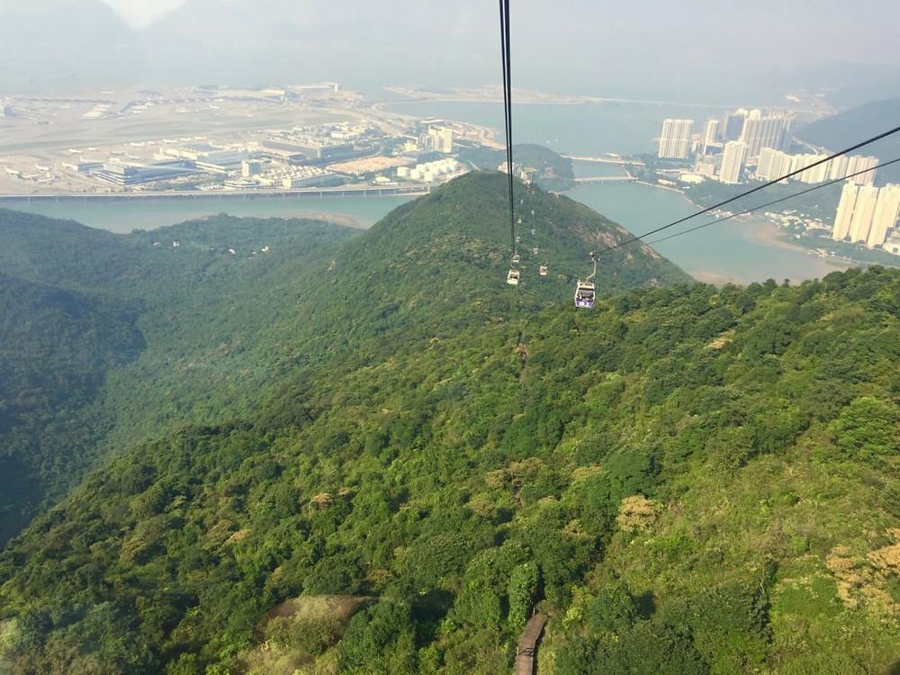 Ngong Ping 360 Cable Car, Hong Kong, Hong Kong China, Hong Kong Cable Car