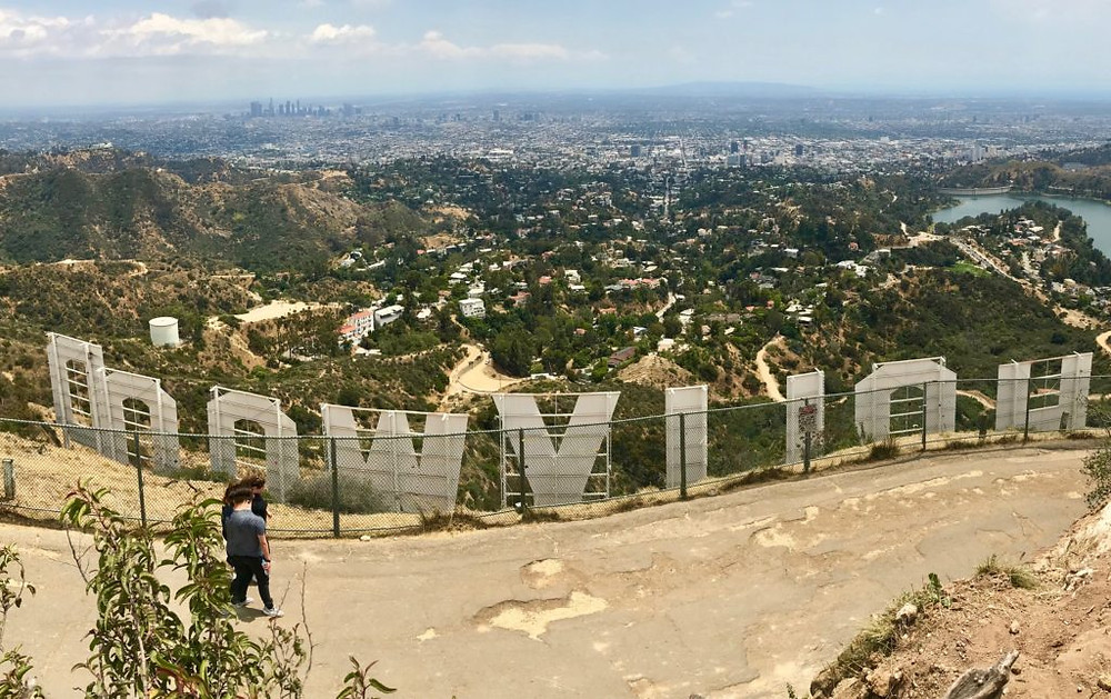 Griffith Park, Hollywood letters, Hollywood Sign