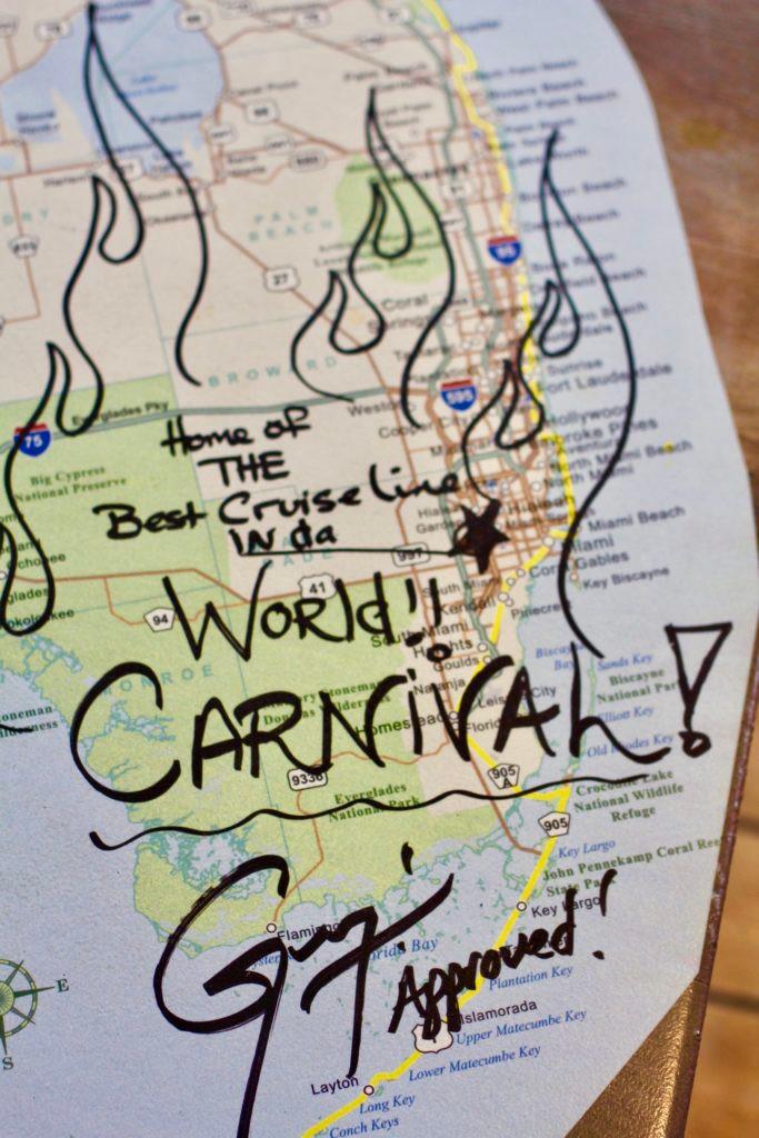 Carnival Glory, Carnival, Carnival Cruise Lines,Guy Fieri, Guy Fieri Burger Joint, gluten free burgers, gf burgers, Carnival Glory food