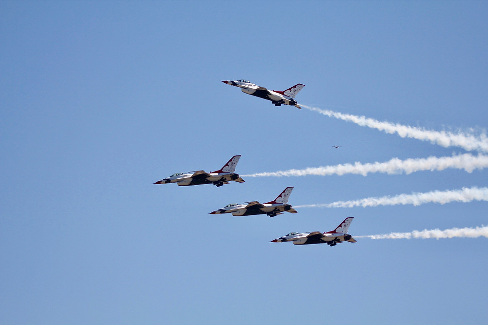 usaf thunderbirds, thunderbirds, Melbourne fl, Melbourne air and space show 2018, Melbourne air show 2018, F-16