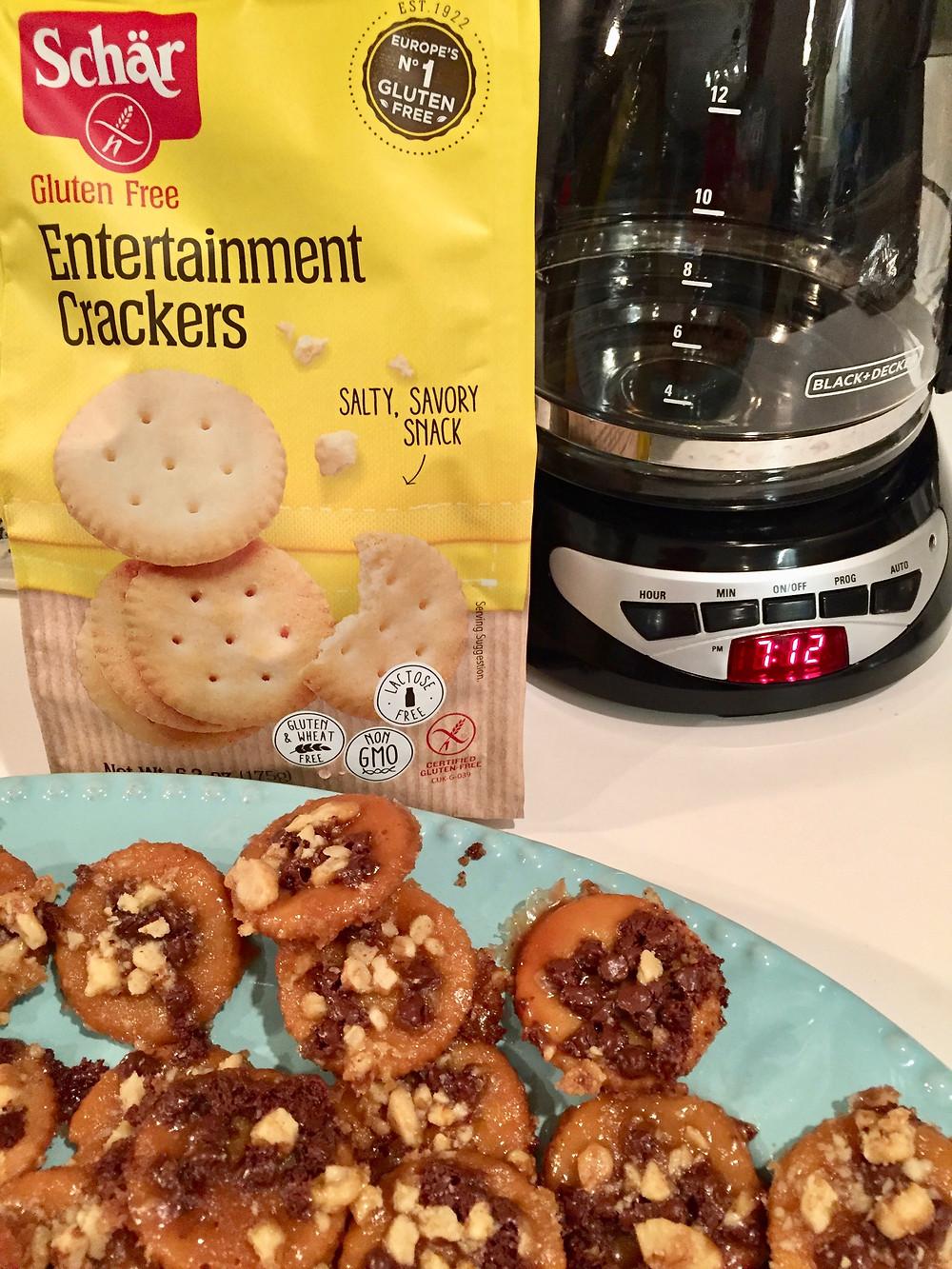 gluten free candies, gluten free cookies, gluten free saltine cracker treats