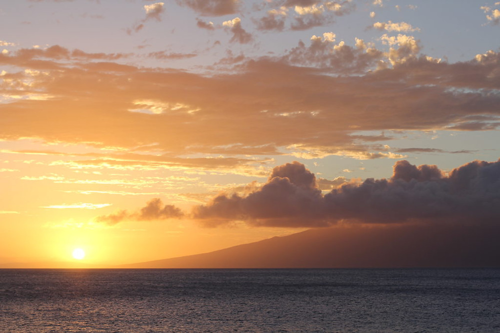 Maui,Hawaii,Maui sunset